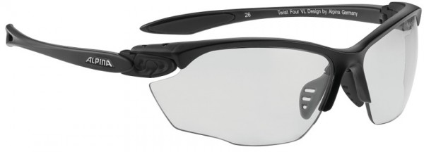 ALPINA Sportbrille TWIST FOUR VL+, black matt