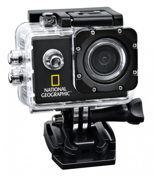 NATIONAL GEOGRAPHIC Full-HD Action Camera 140°